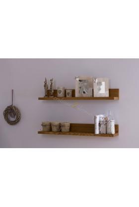 Pojedyńcza półka drewniana Genua 05 do pokoju dziecięcego