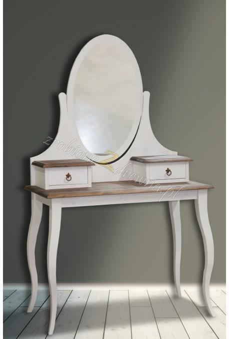 Rustykalna toaletka drewniana Hacienda do sypialni