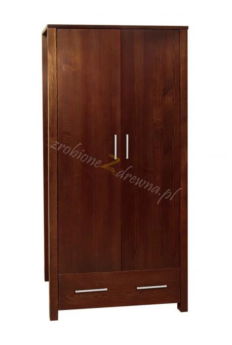 Nowoczesna szafa drewniana Milano 02 dla hoteli