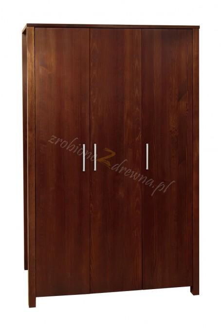 Szafa hotelowa Milano 03 z litego drewna sosnowego
