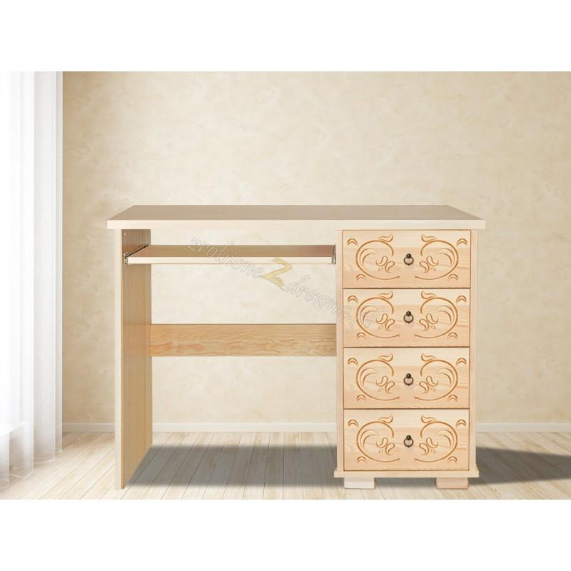 Drewniane biurko Góralskie 32 do biura>                                         <span class=