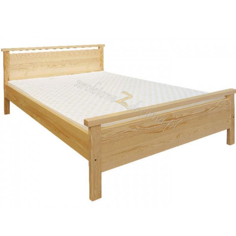 Łóżko Klasyczne 12 z litego drewna sosnowego>                                         <span class=