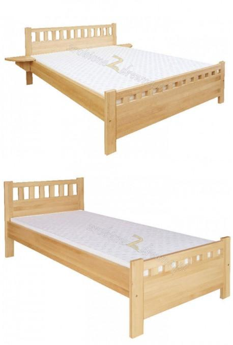 Łóżko sosnowe Klasyczne 11 do sypialni