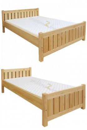 Łóżko drewniane Klasyczne 10 do sypialni