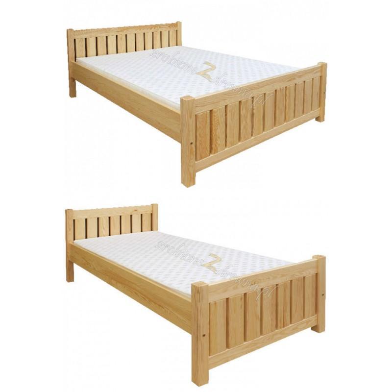 Łóżko drewniane Klasyczne 10 do sypialni>                                         <span class=