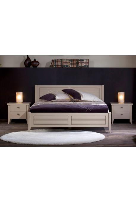 Nowoczesne łóżko drewniane Torino 43 do sypialni