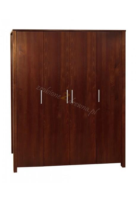 Nowoczesna szafa drewniana Milano 05 dla hoteli