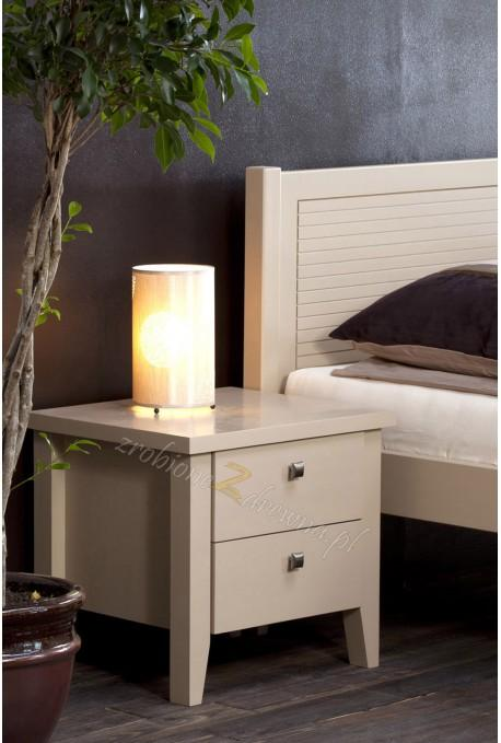 Szafka nocna sosnowa do sypialni Torino 33 w stylu włoskim