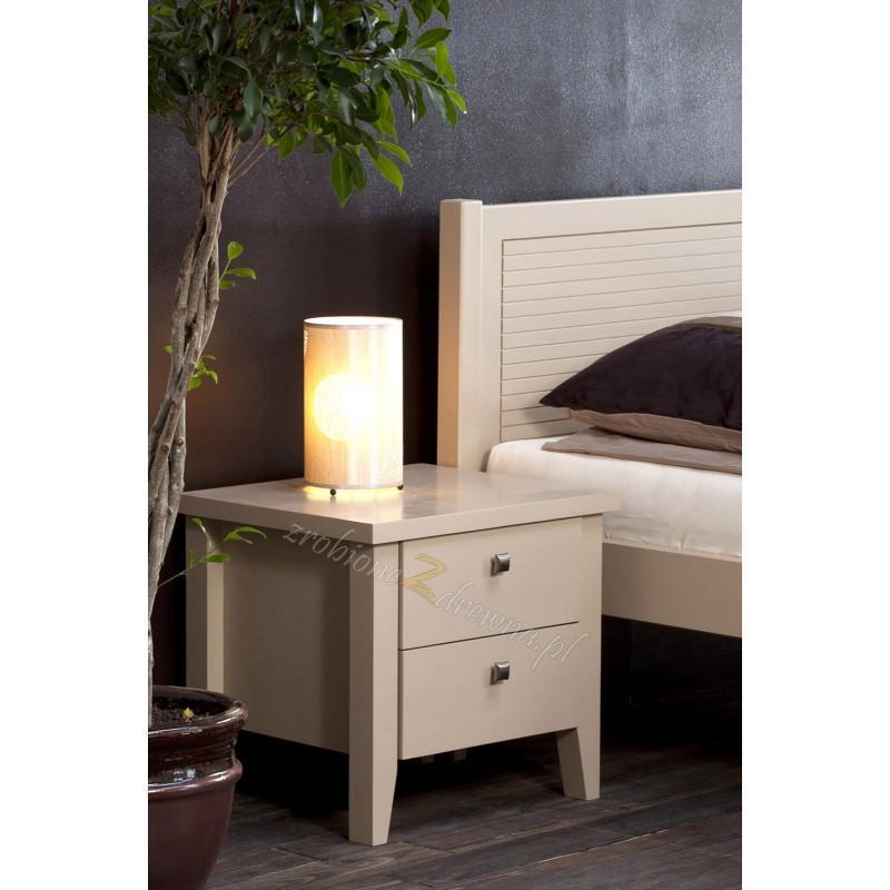 Szafka nocna sosnowa do sypialni Torino 33 w stylu włoskim>                                         <span class=