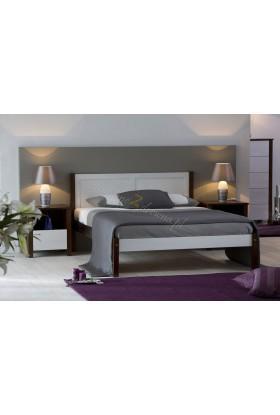 Łóżko drewniane Milano 49 do pokoi hotelowych