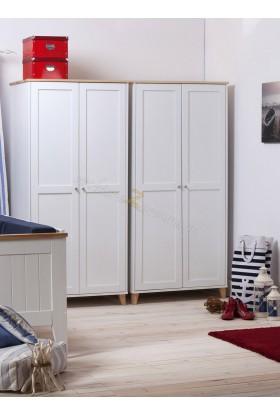 Szafa drewniana Siena 01 w stylu skandynawskim