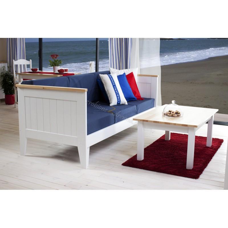 Biała sofa rozkładana Siena 15 w stylu skandynawskim>                                         <span class=