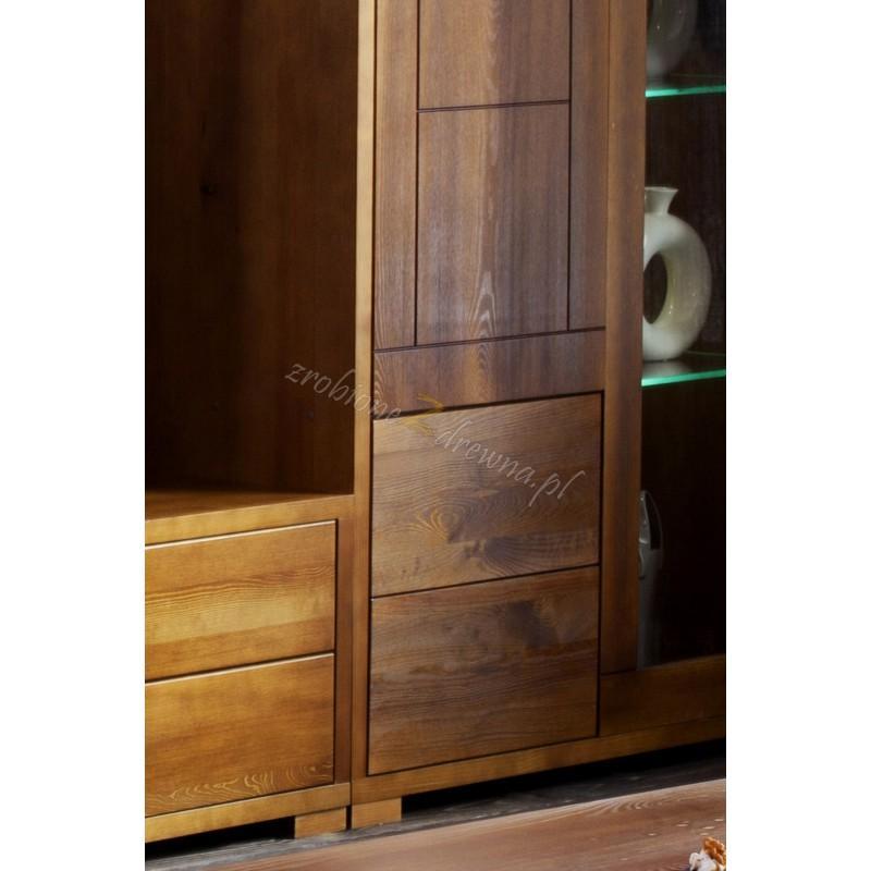 Drewniana witryna Genua 02 w stylu skandynawskim>                                         <span class=