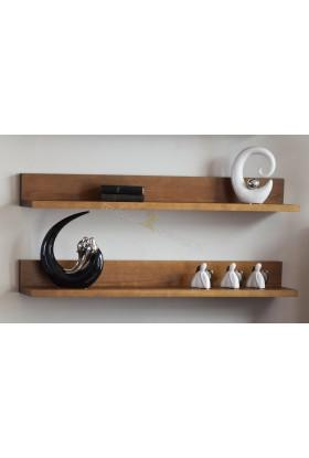 Pojedyńcza półka sosnowa Genua 11 w nowoczesnym stylu