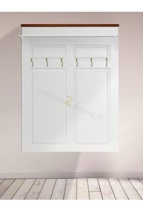 Biała garderoba Roma 23 z litego drewna