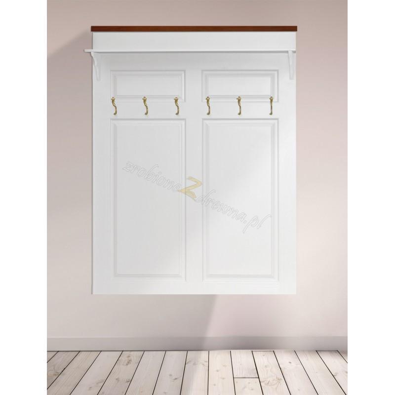Biała garderoba Roma 23 z litego drewna>                                         <span class=