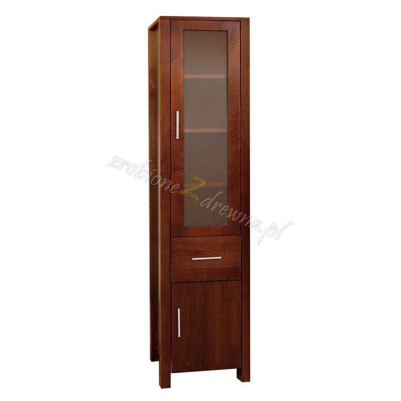 Witryna hotelowa Milano 09 z litego drewna sosnowego>                                         <span class=