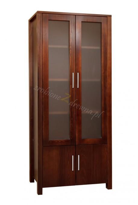 Witryna drewniana Milano 10 do pokoi hotelowych