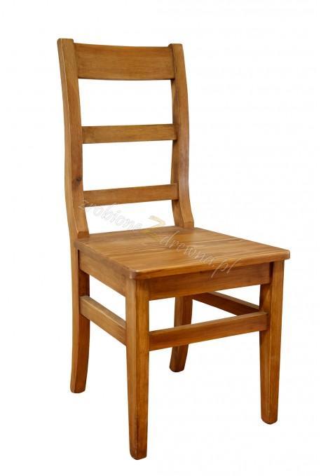Rustykalne krzesło drewniane Hacienda 04 do salonu lub kuchni