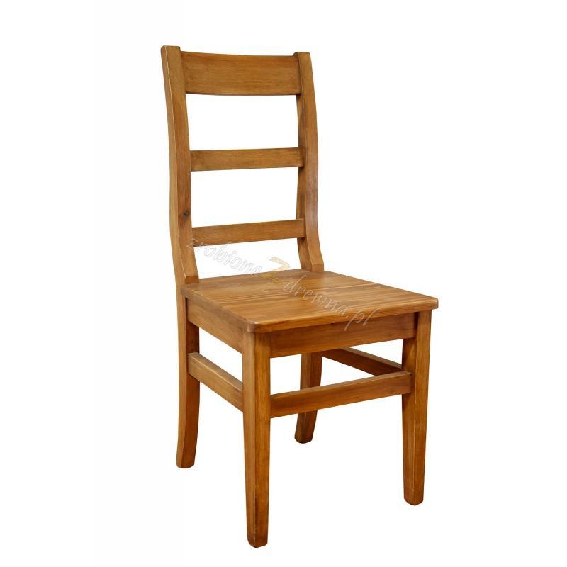 Rustykalne krzesło drewniane Hacienda 04 do salonu lub kuchni>                                         <span class=