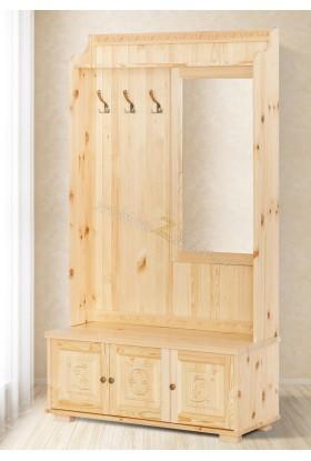 Drewniana garderoba Góralska 30 do salonu
