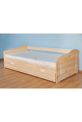 Łóżko drewniane Klasyczne 13 do sypialni