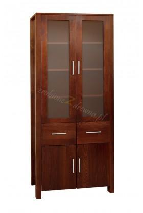 Nowoczesna witryna drewniana Milano 11 dla hoteli