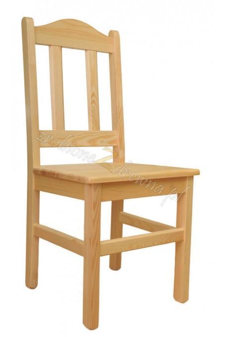 Krzesło Klasyczne 03 z litego drewna sosnowego