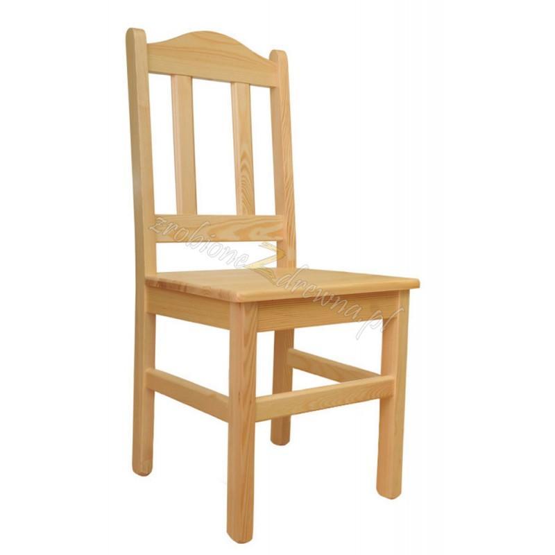 Krzesło Klasyczne 03 z litego drewna sosnowego>                                         <span class=