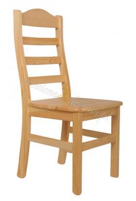 Krzesło Klasyczne 06 z litego drewna sosnowego