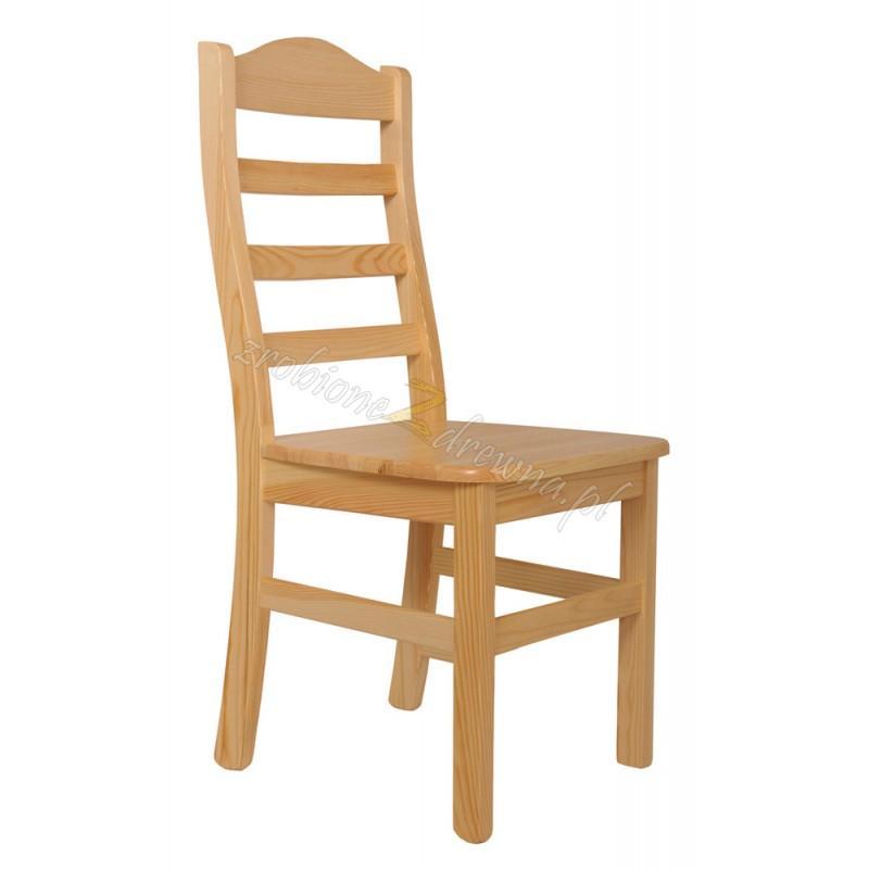 Krzesło Klasyczne 06 z litego drewna sosnowego>                                         <span class=
