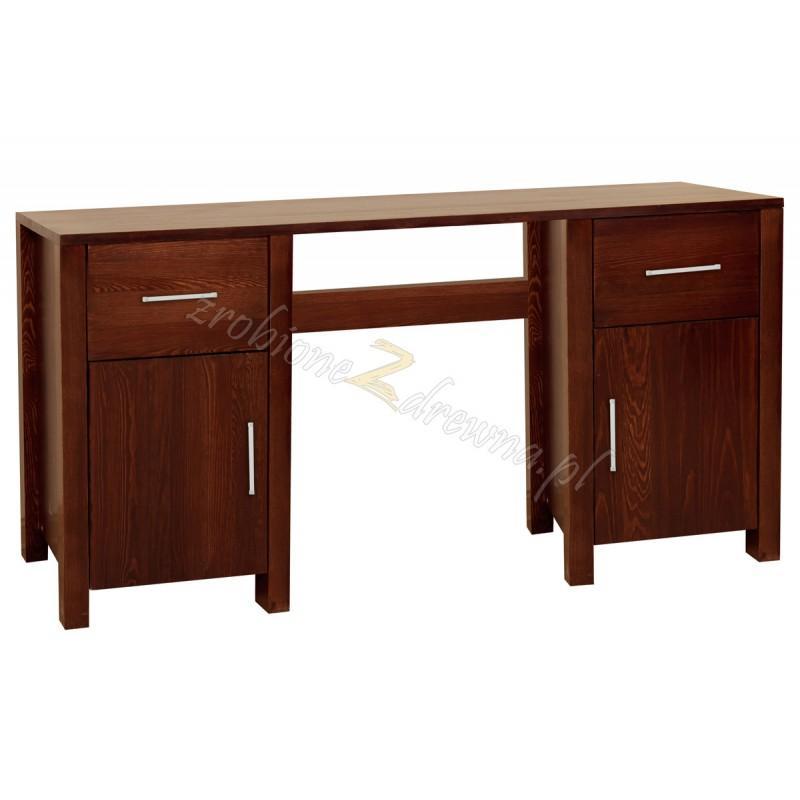 Biurko drewniane Milano 40 do pokoi hotelowych>                                         <span class=