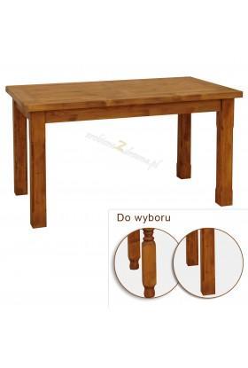 Rustykalny stół drewniany Hacienda do salonu lub jadalni