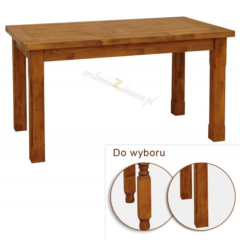 Rustykalny stół drewniany Hacienda do salonu lub jadalni>                                         <span class=