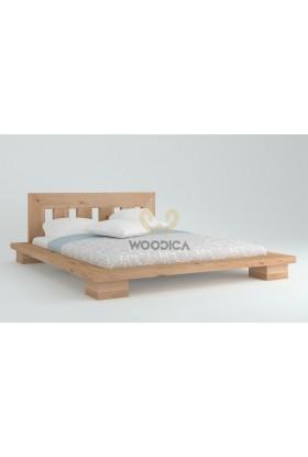 Łóżko dębowe Cerasus 02
