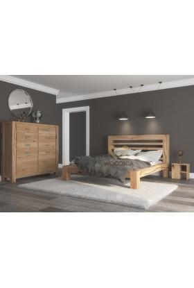 Łóżko dębowe Syringa 01