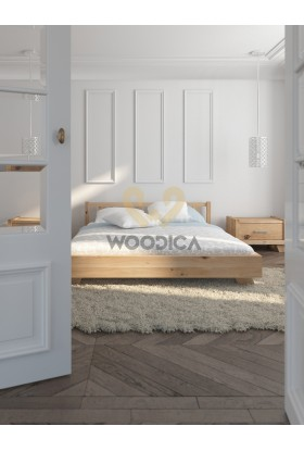 Łóżko dębowe Sephora 04