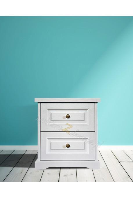 Biała komoda drewniana Parma 24 w stylu nowoczesnym