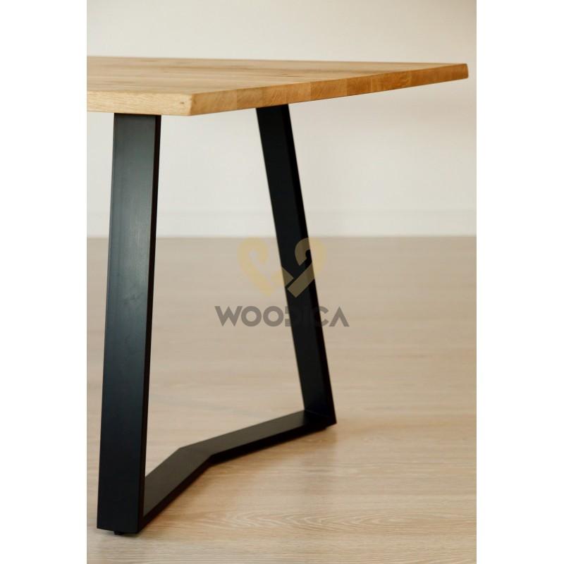Stół dębowy na metalowych nogach 12>                                         <span class=