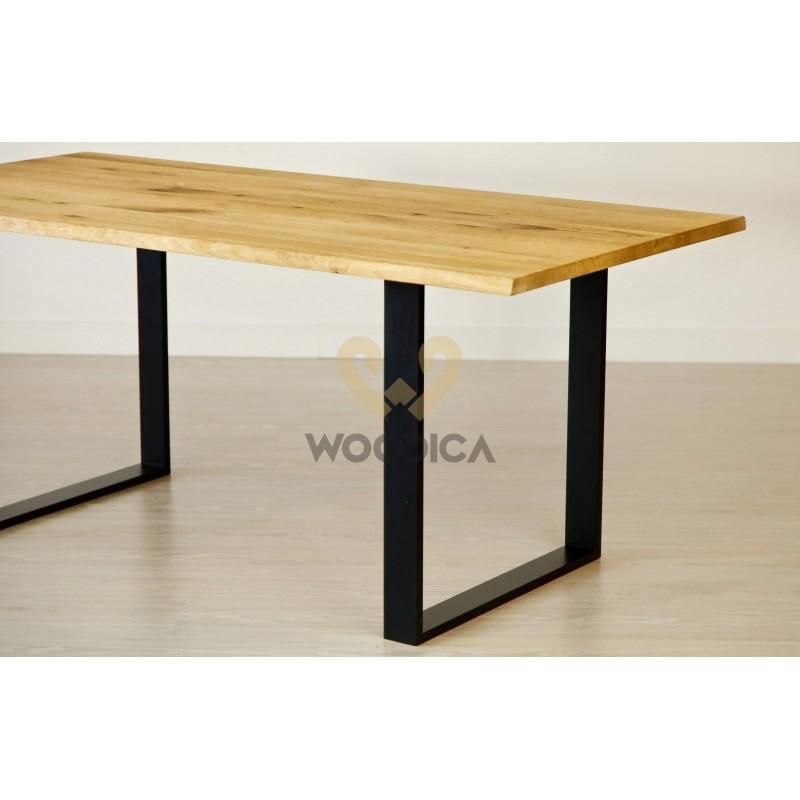 Stół dębowy na metalowych nogach 13>                                         <span class=