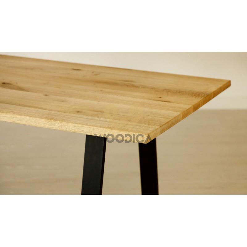 Stół dębowy na metalowych nogach 14>                                         <span class=