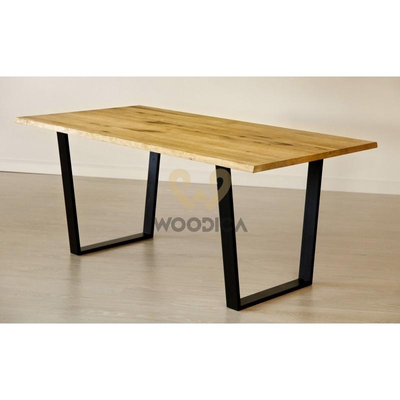 Stół dębowy na metalowych nogach 15>                                         <span class=