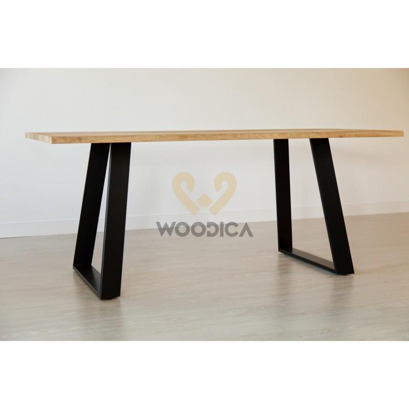 Stół dębowy na metalowych nogach 16>                                         <span class=