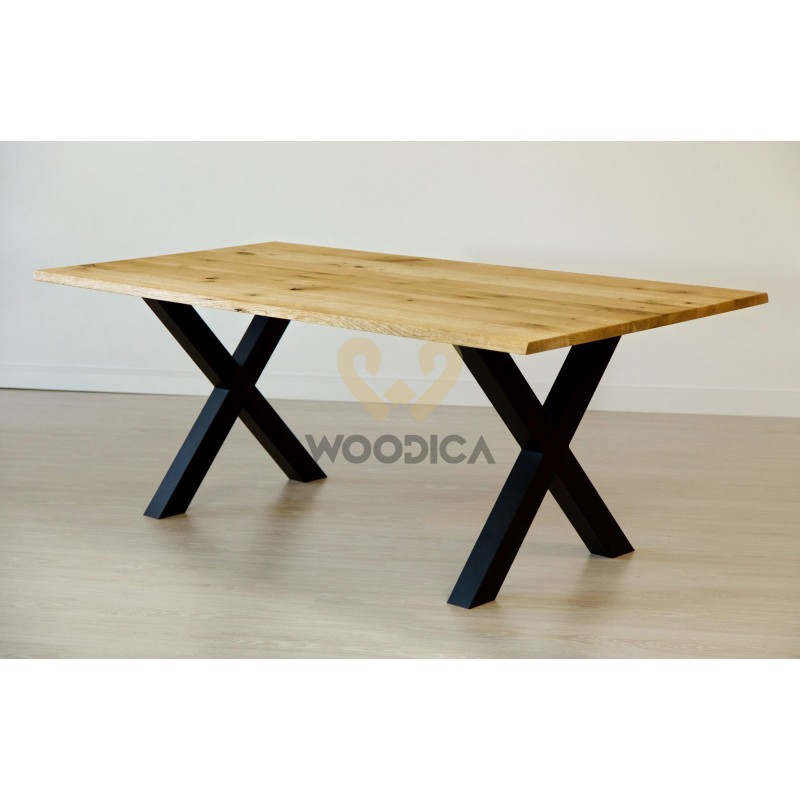Stół dębowy na metalowych nogach 17>                                         <span class=