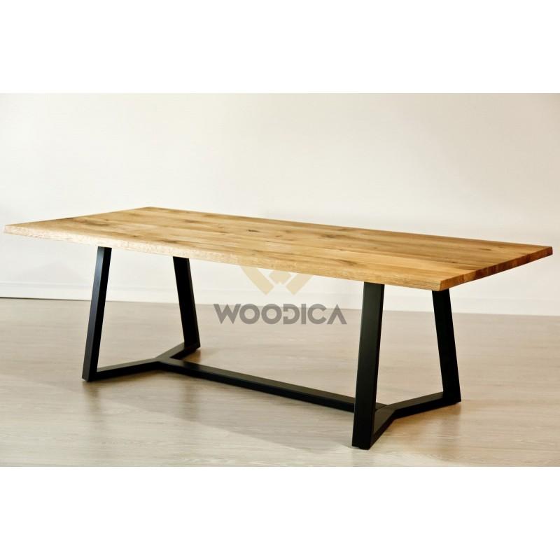 Stół dębowy na metalowych nogach 19>                                         <span class=