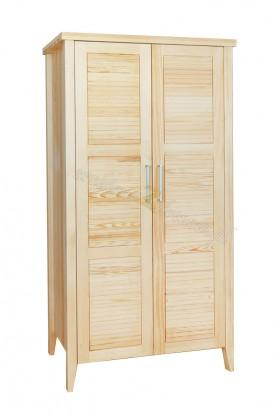 Nowoczesna szafa drewniana Torino 01 do sypialni