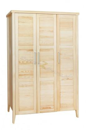 Nowoczesna szafa z litego drewna Torino 02 do salonu