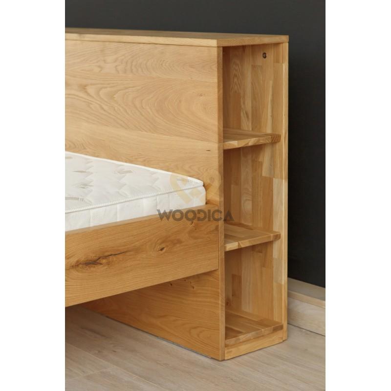 Łóżko dębowe Vernalis 03>                                         <span class=