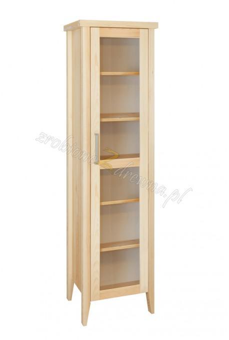 Nowoczesna witryna drewniana Torino 04 do sypialni