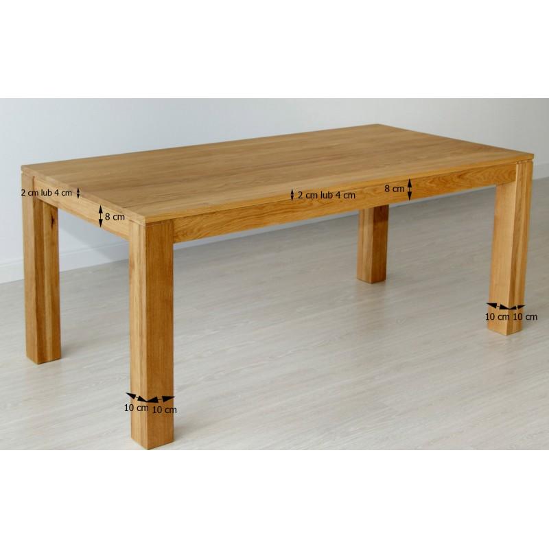Stół dębowy Klasyczny 02>                                         <span class=